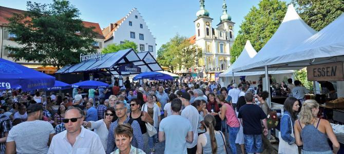 DonauquellFest, es ging heiß her