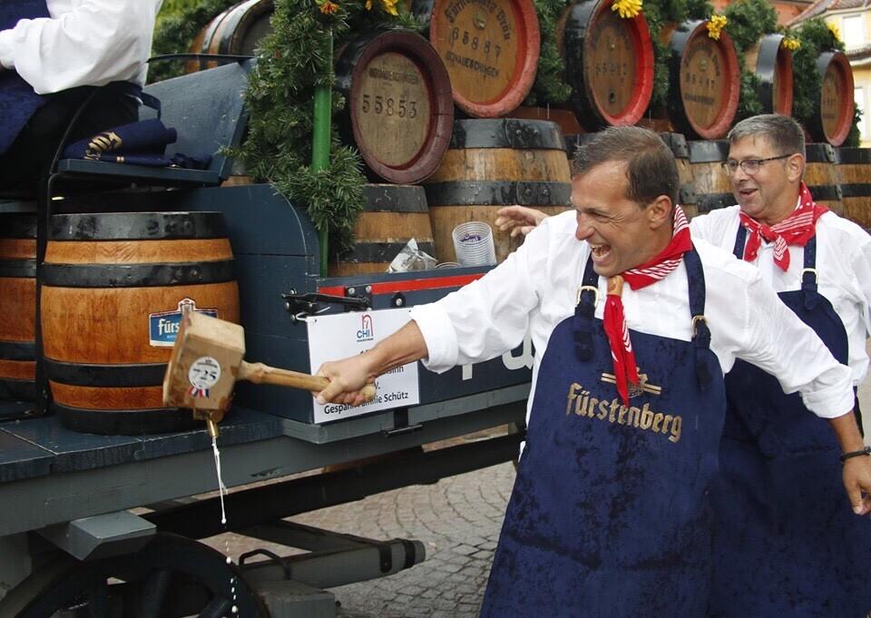 Umzug am Reitturnier zur Eröffnung des CHI Donaueschingen