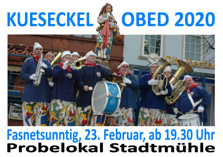 Kuhseckel-OBED @ Probelokal Trachtengruppe Stadtmühle